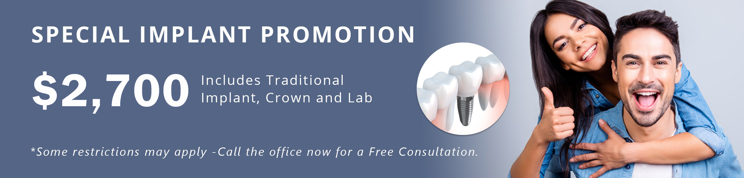 Jane Street Dental Implant promo